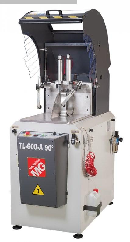 gebrauchte Alu-Kreissäge Tronzadoras TLG 600 A - 90°