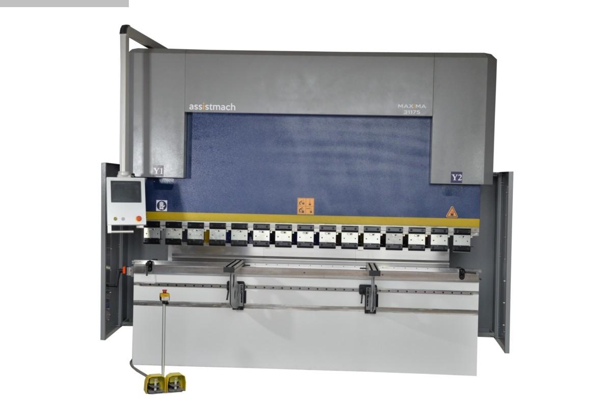 used Sheet metal working / shaeres / bending Hydr. pressbrake Assistmach Maxima 1240