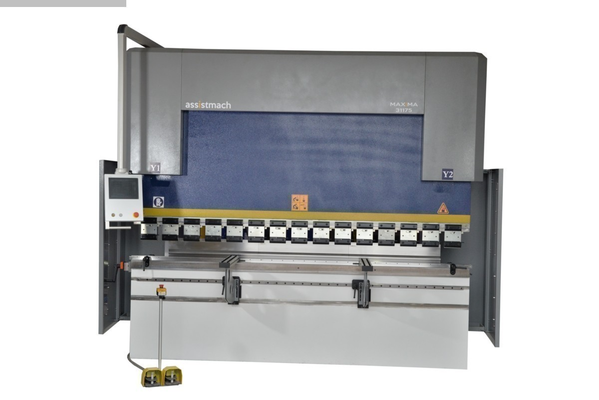 used Sheet metal working / shaeres / bending Hydr. pressbrake Assistmach Maxima 61320
