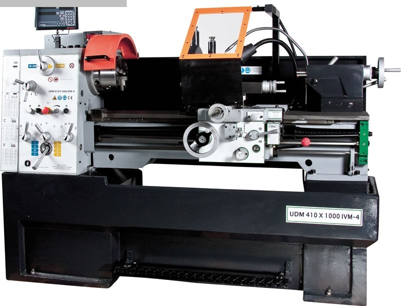 gebrauchte Drehmaschinen Leit- und Zugspindeldrehmaschine HUVEMA HU 410  x 1000 VAC