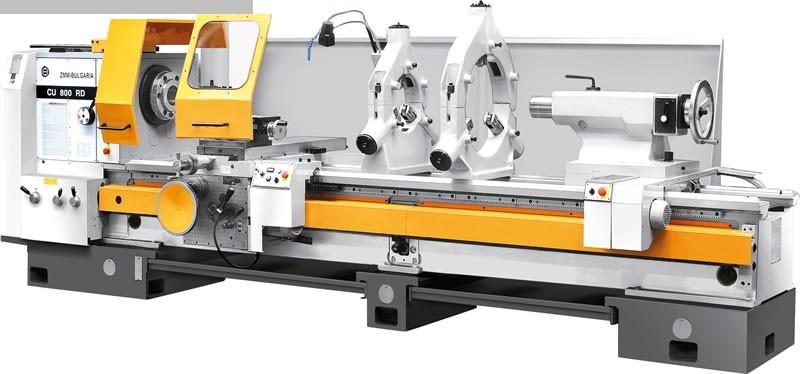gebrauchte Drehmaschinen Leit- und Zugspindeldrehmaschine ZMM CU 800 x 1500 VAC