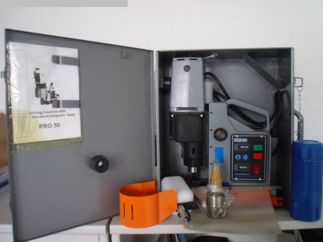 used Machines available immediately Magnet-Drilling-Machine Promotech PRO 50