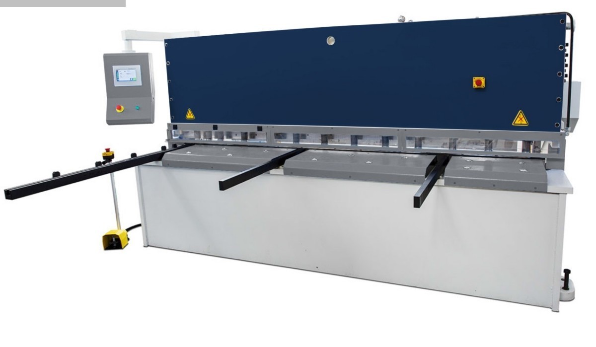 used Sheet metal working / shaeres / bending Plate Shear - Hydraulic Assistmach S-CUT 3106