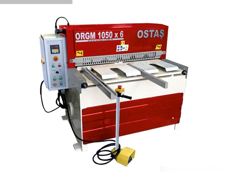 used Sheet metal working / shaeres / bending Plate Shear - Mechanical OSTAS ORGM 1050 x 6