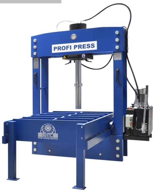 gebrauchte Pressen und Bördelmaschinen Doppelständer - Richtpresse PROFI PRESS PPTL 100