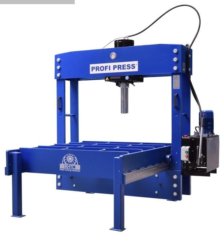 gebrauchte Pressen und Bördelmaschinen Doppelständer - Richtpresse PROFI PRESS PPTL 100 x 1500