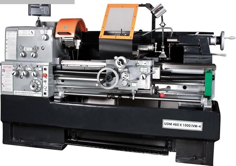gebrauchte  Leit- und Zugspindeldrehmaschine HUVEMA HU 460  x 1000 VAC