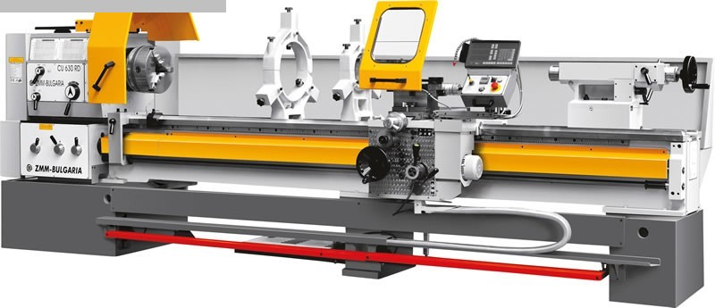 gebrauchte  Leit- und Zugspindeldrehmaschine ZMM CU 630 x 1000 VAC