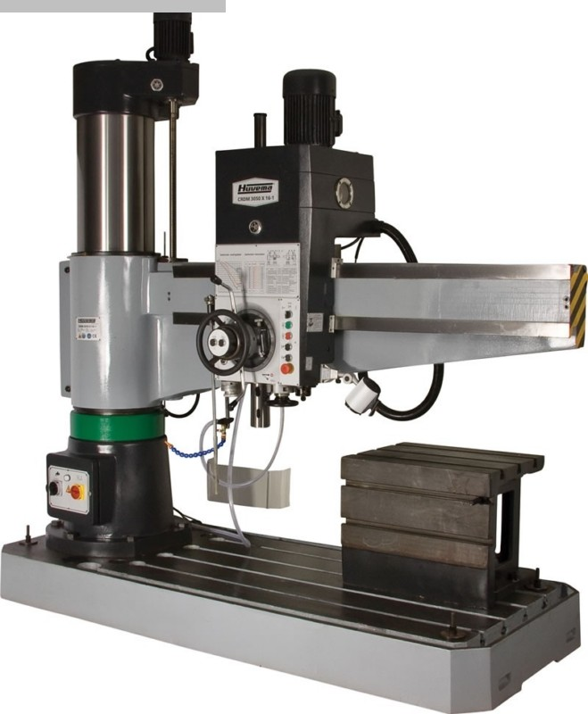gebrauchte Bohrwerke / Bearbeitungszentren / Bohrmaschinen Radialbohrmaschine HUVEMA CRDM 3050 x 16/1