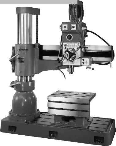 gebrauchte Bohrwerke / Bearbeitungszentren / Bohrmaschinen Radialbohrmaschine HUVEMA CRDM 3040 x 1100 Topline