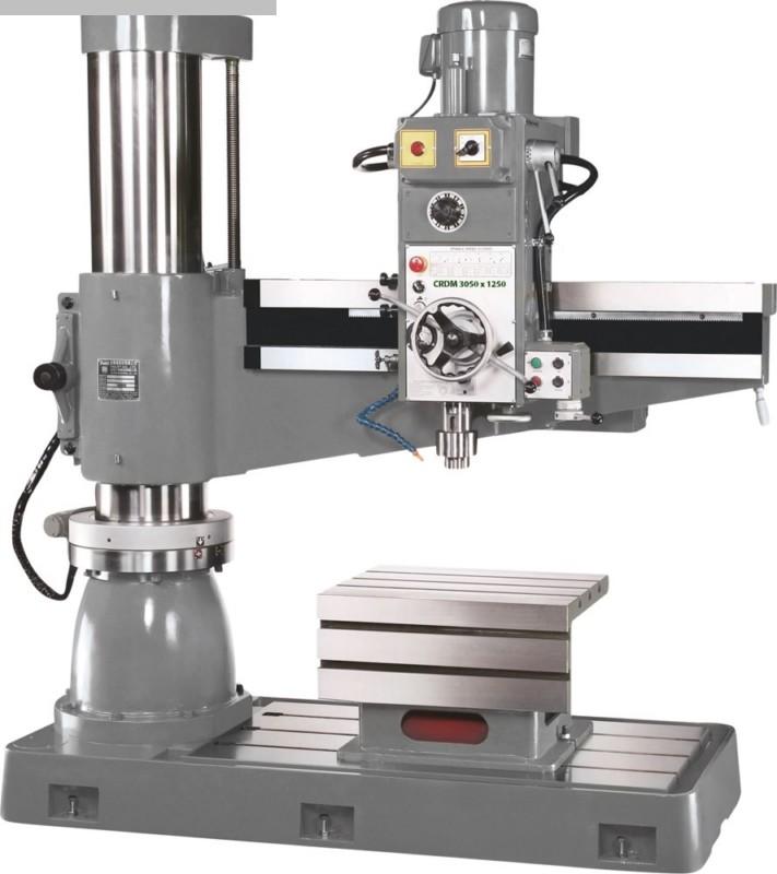 gebrauchte Bohrwerke / Bearbeitungszentren / Bohrmaschinen Radialbohrmaschine HUVEMA CRDM 3050 x 1250 Topline