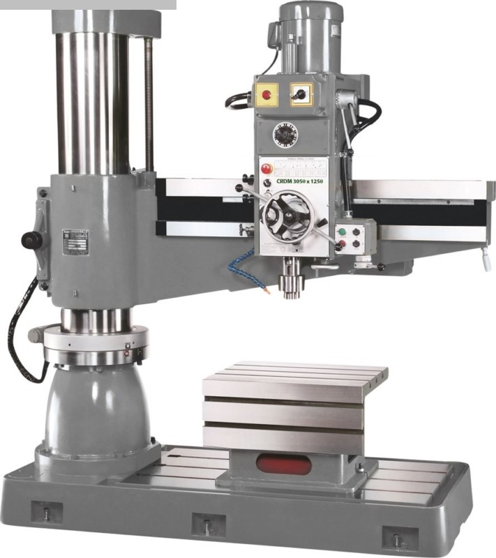 gebrauchte Bohrwerke / Bearbeitungszentren / Bohrmaschinen Radialbohrmaschine HUVEMA CRDM 3050 x 1600 Topline