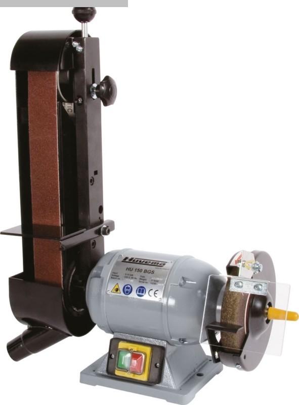 gebrauchte Schleifmaschinen Schleifbock HUVEMA HU 200 BGS 4 Topline