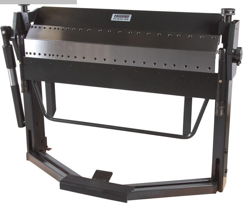 gebrauchte Blechbearbeitung / Scheren / Biegen / Richten Schwenkbiegemaschine HUVEMA HU 20 DS