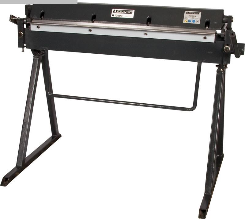 gebrauchte Blechbearbeitung / Scheren / Biegen / Richten Schwenkbiegemaschine HUVEMA HU 1050 x 1,2 B