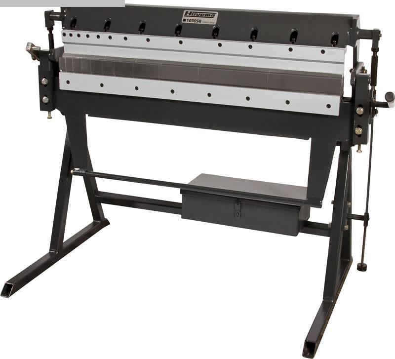 gebrauchte Blechbearbeitung / Scheren / Biegen / Richten Schwenkbiegemaschine HUVEMA HU 1050 SB