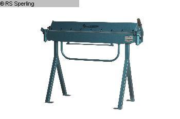 gebrauchte Blechbearbeitung / Scheren / Biegen / Richten Schwenkbiegemaschine SCANTOOL SCA 1050