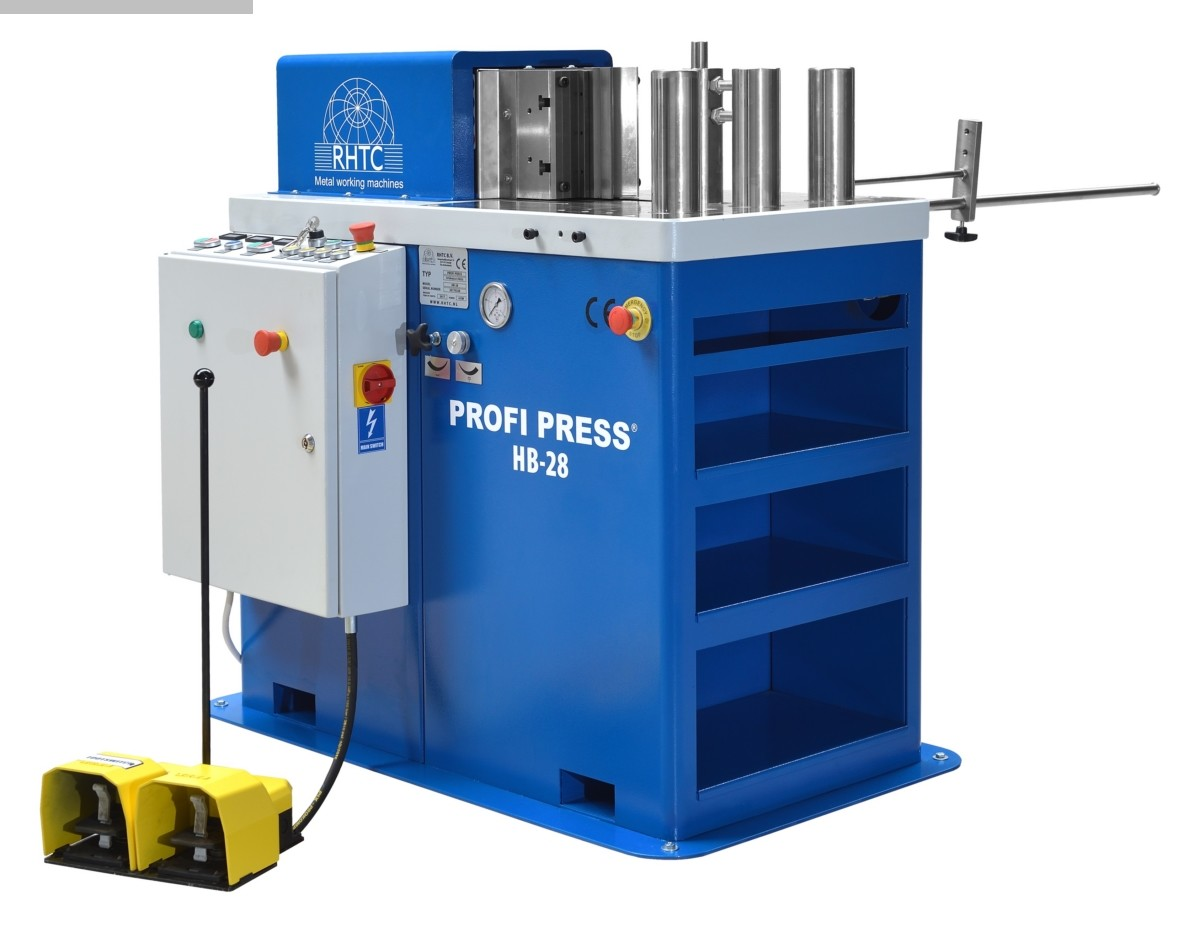 used Sheet metal working / shaeres / bending bending machine horizontal Profi Press HB-28