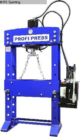 gebruikte persen Tryout Pers - hydraulisch PROFI PRESS PP 30 M / H-2 motor / handbetrieb