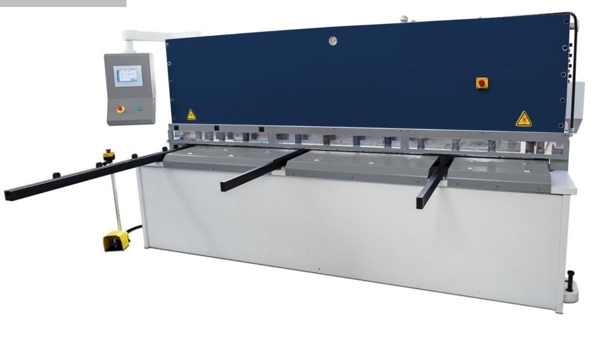 gebrauchte Blechbearbeitung / Scheren / Biegen / Richten Tafelschere - hydraulisch Assistmach S-CUT 4106