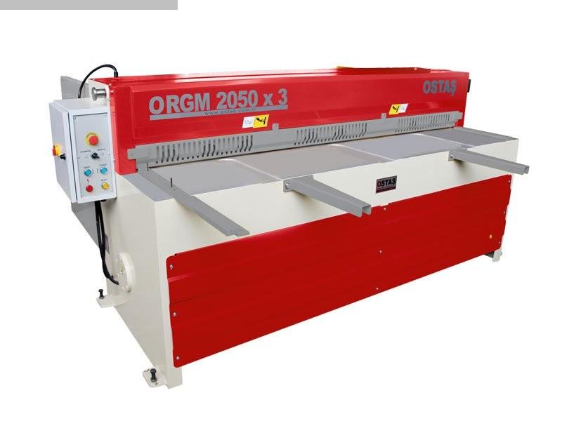 gebrauchte Blechbearbeitung / Scheren / Biegen / Richten Tafelschere - mechanisch OSTAS ORGM 2050 x 3