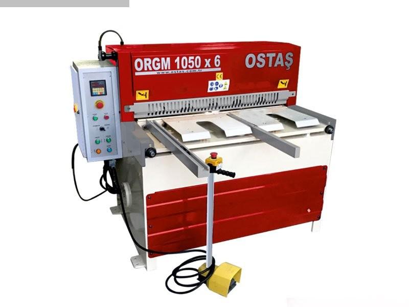 gebrauchte Blechbearbeitung / Scheren / Biegen / Richten Tafelschere - mechanisch OSTAS ORGM 1050 x 6