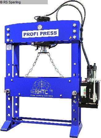gebrauchte Pressen und Bördelmaschinen Werkstattpresse - hydraulisch PROFI PRESS PP 160 M-H/C-2 1500