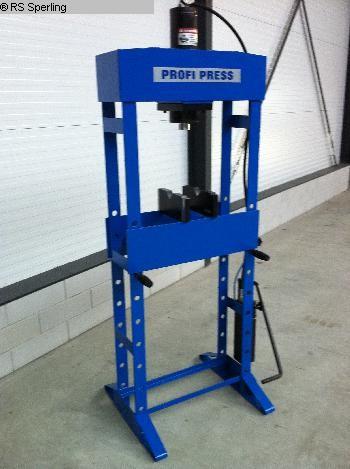gebrauchte Werkstattpresse - hydraulisch Profi Press PP 50 ton HF 2