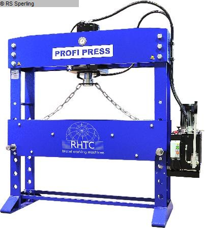 gebrauchte Pressen und Bördelmaschinen Werkstattpresse - hydraulisch Profi Press PP 100 M/H C-2 1500