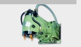 utilisé Autres accessoires pour machines-outils tête de fraisage verticale EMENA VAR 7 / ISO 50 hydr. Klemmung