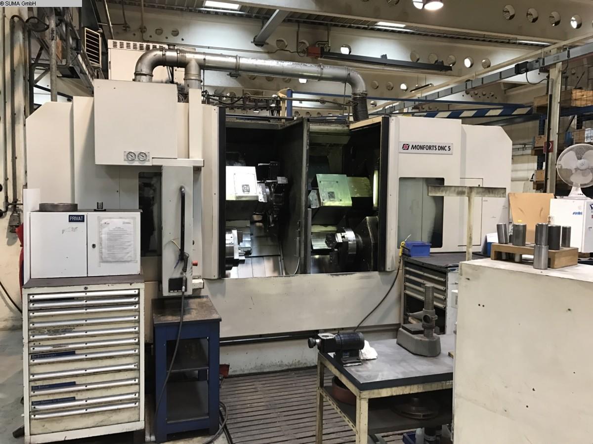 gebrauchte Maschine CNC Drehmaschine MONFORTS DNC 5