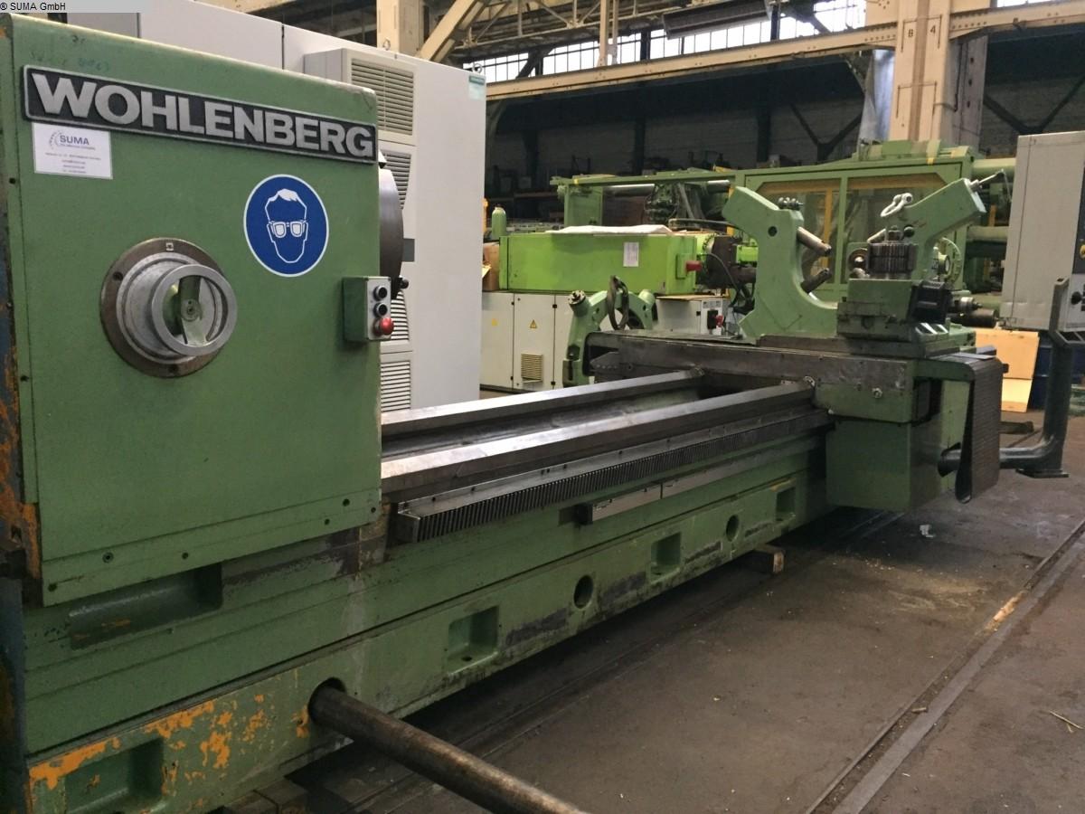 gebrauchte Maschine CNC Drehmaschine WOHLENBERG