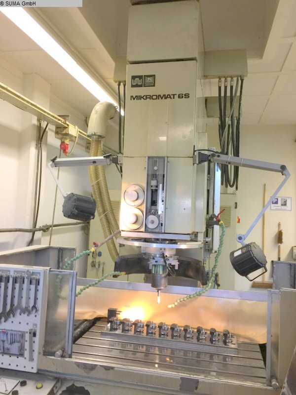 gebrauchte Maschine Koordinatenschleifmaschine VEB-MIKROMAT MIKROMAT 6 S
