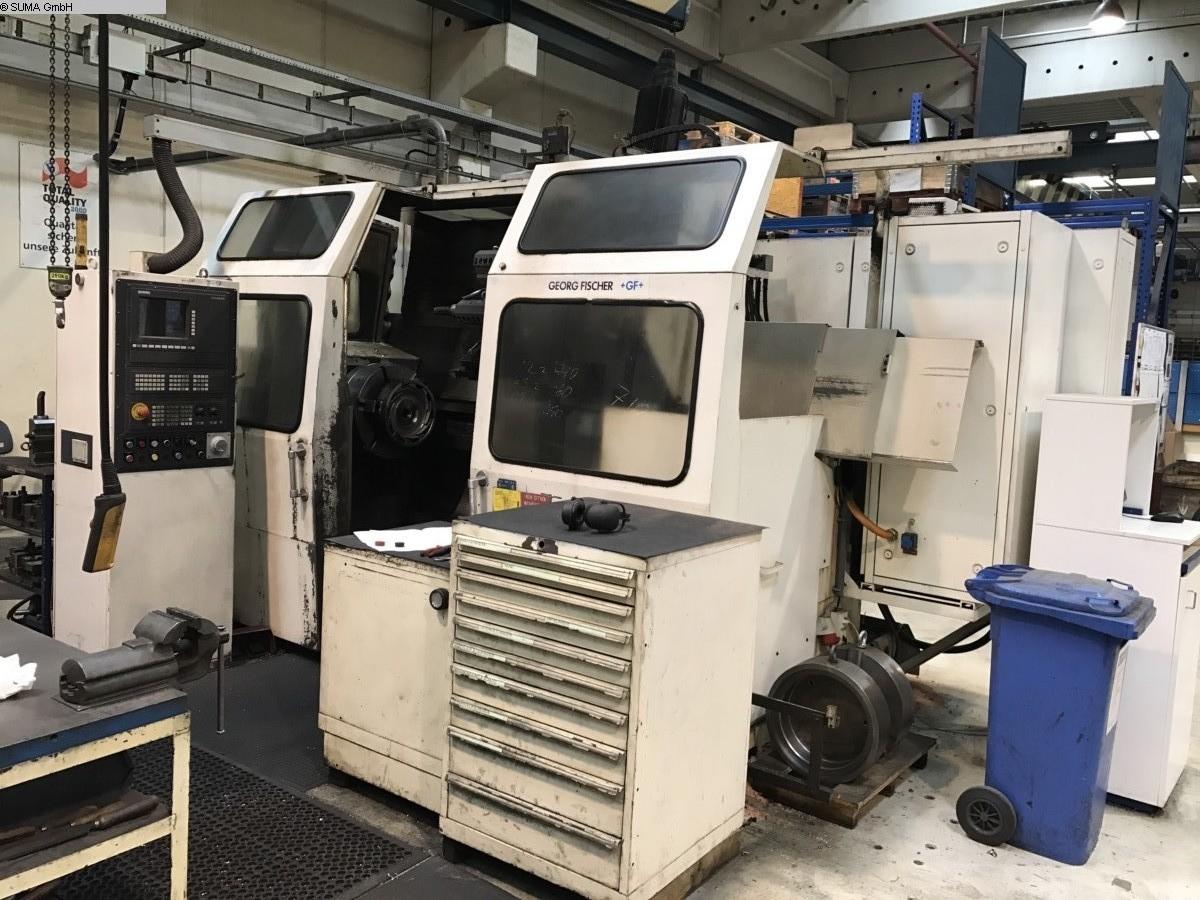 gebrauchte CNC Drehmaschine GEORG FISCHER NDM 22/150