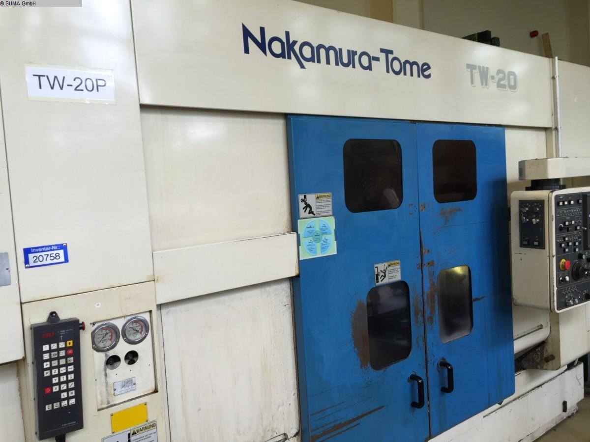 used  CNC Lathe NAKAMURA TOME TW 20