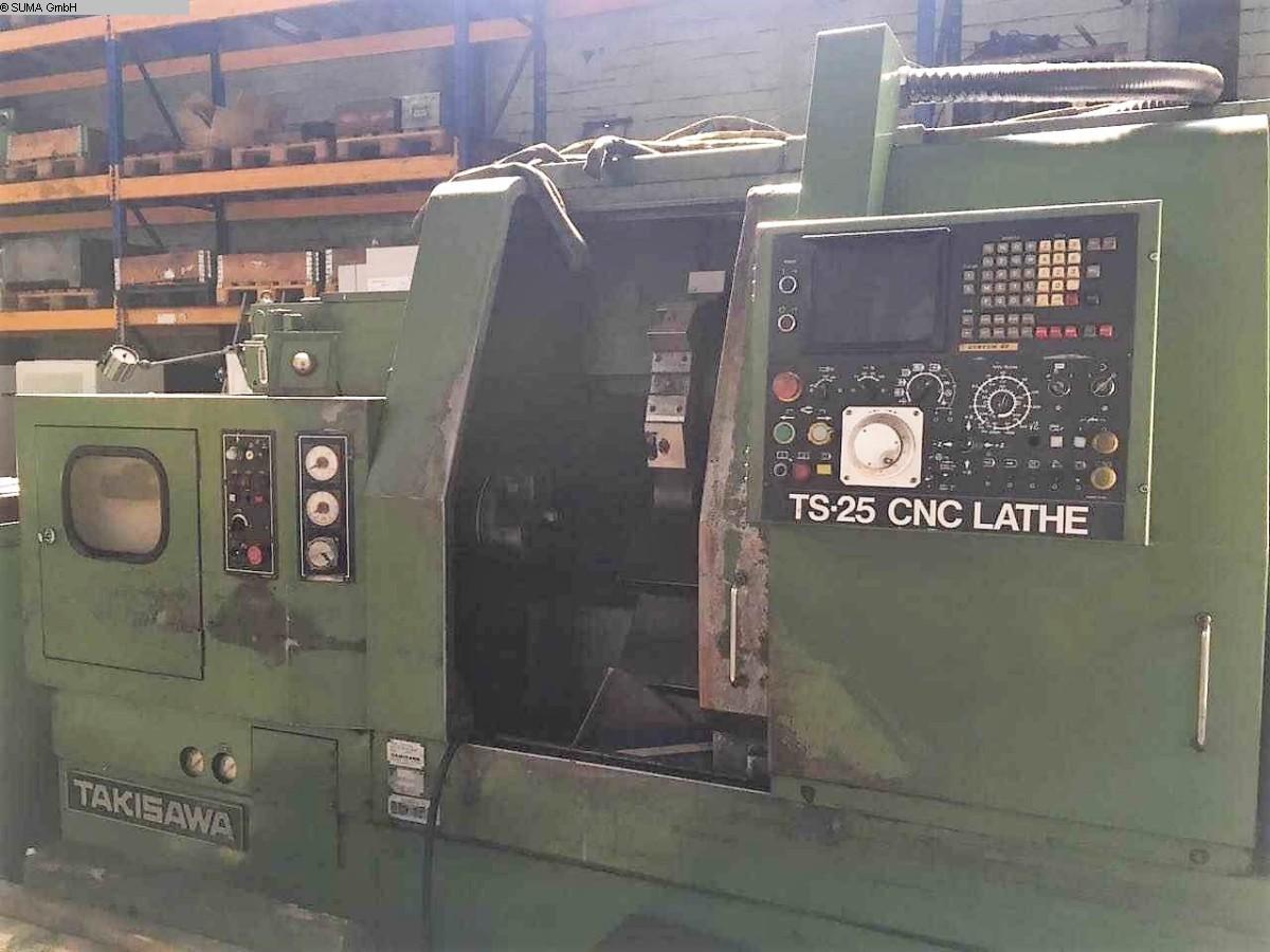 used  CNC Lathe TAKISAWA TS 25