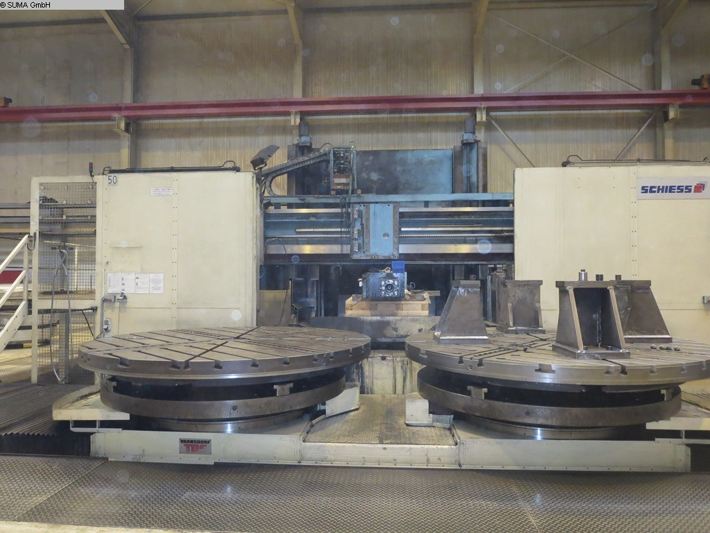 used  Planer-Type Milling M/C - Double Column SCHIESS VMG 4