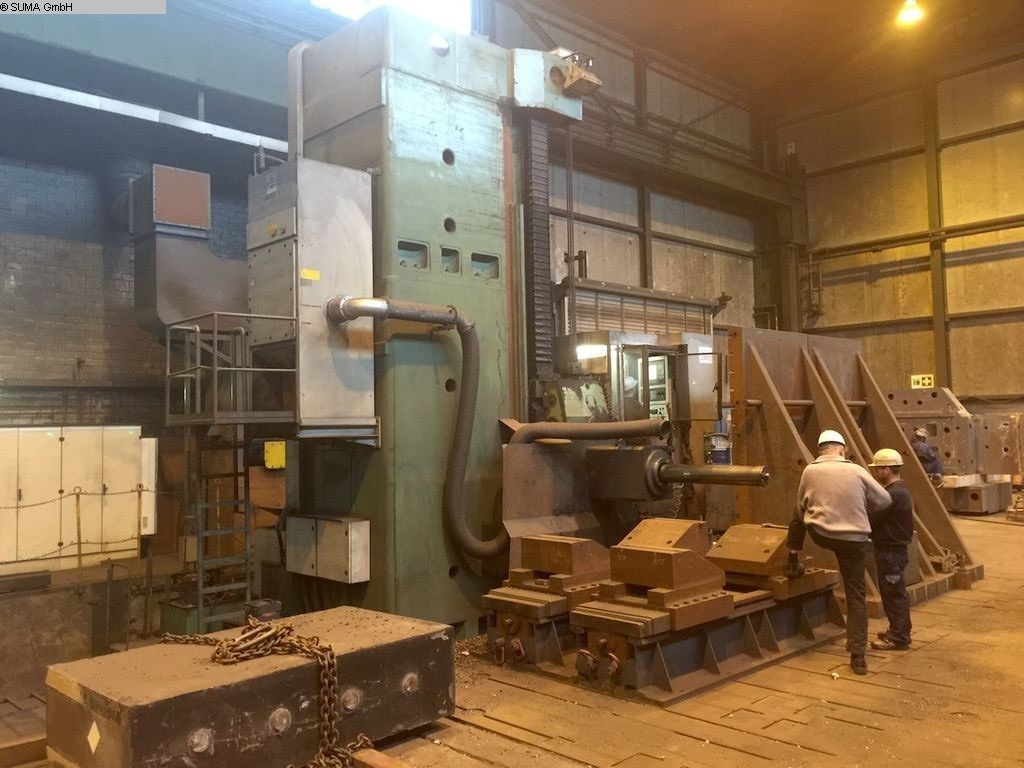 used Ram-Type Floor Boring and Milling M/C TITAN-PAMA AFP 200
