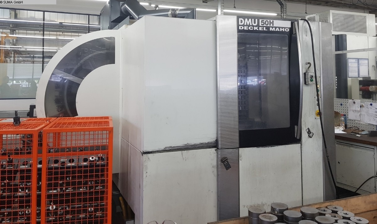 used  milling machining centers - horizontal DECKEL-MAHO DMU 50H
