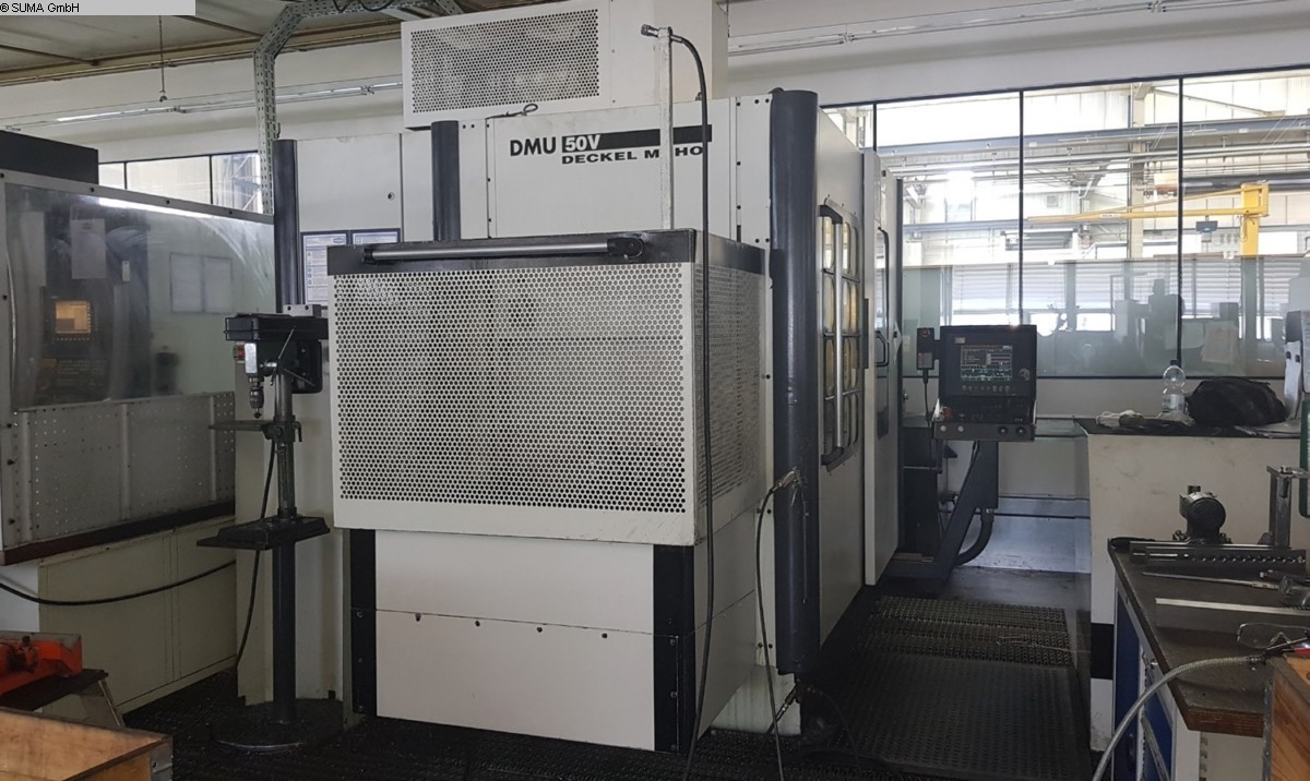 used milling machining centers - vertical DECKEL-MAHO DMU 50V