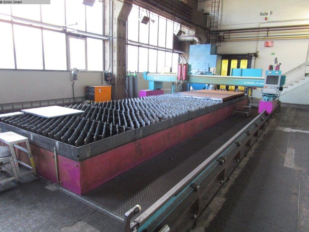 Machine de découpe plasma SATRONIK D 5000