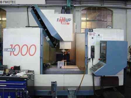 gebrauchte Maschine Bearbeitungszentrum - Vertikal FAMUP MCX 1000-24