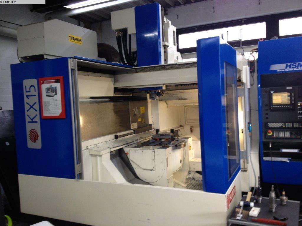 gebrauchte Maschine Bearbeitungszentrum - Universal HURON KX 15