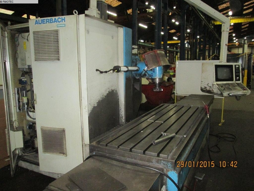 gebrauchte Maschine Bettfräsmaschine - Universal AUERBACH FBE 2000