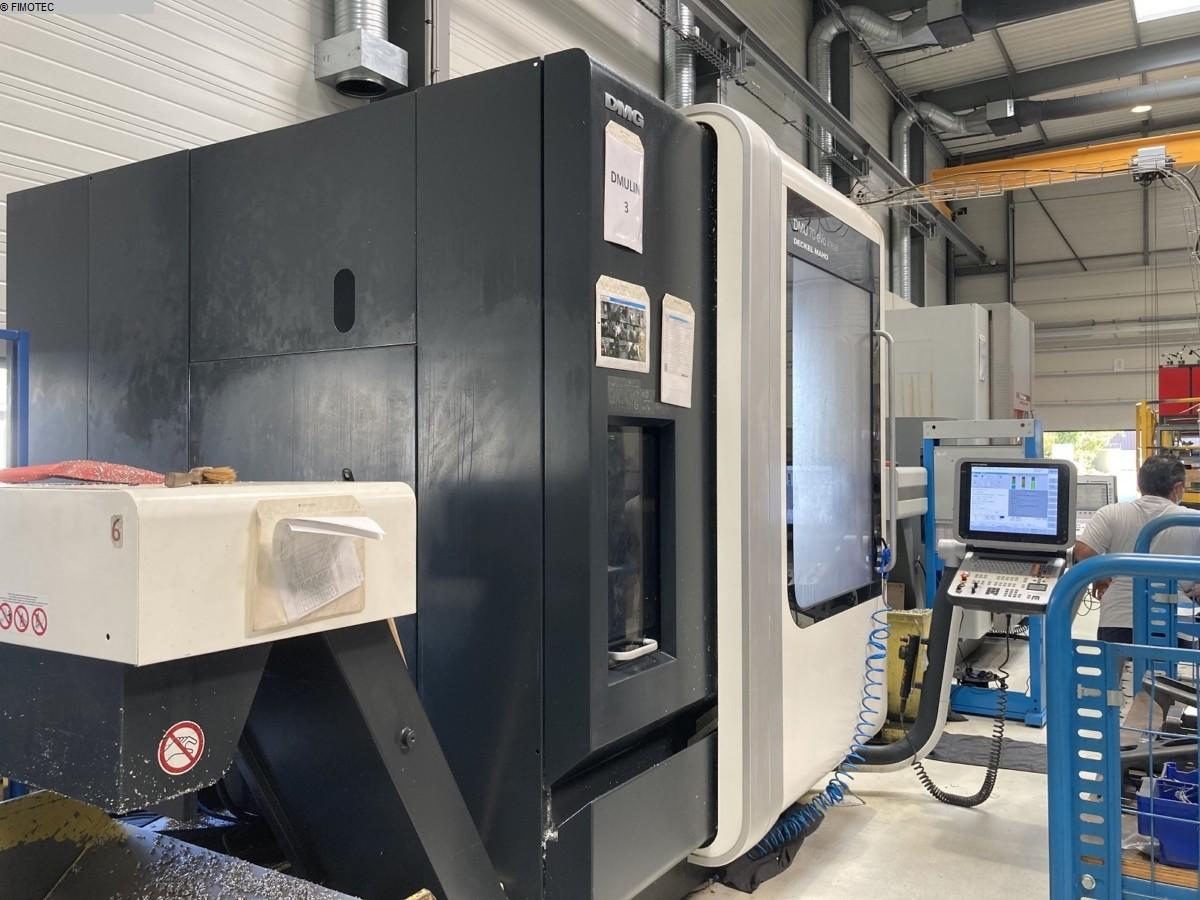 gebrauchte Bohrwerke / Bearbeitungszentren / Bohrmaschinen Bearbeitungszentrum - Universal DMG DMU70 EVOLUTION linear5 achsen