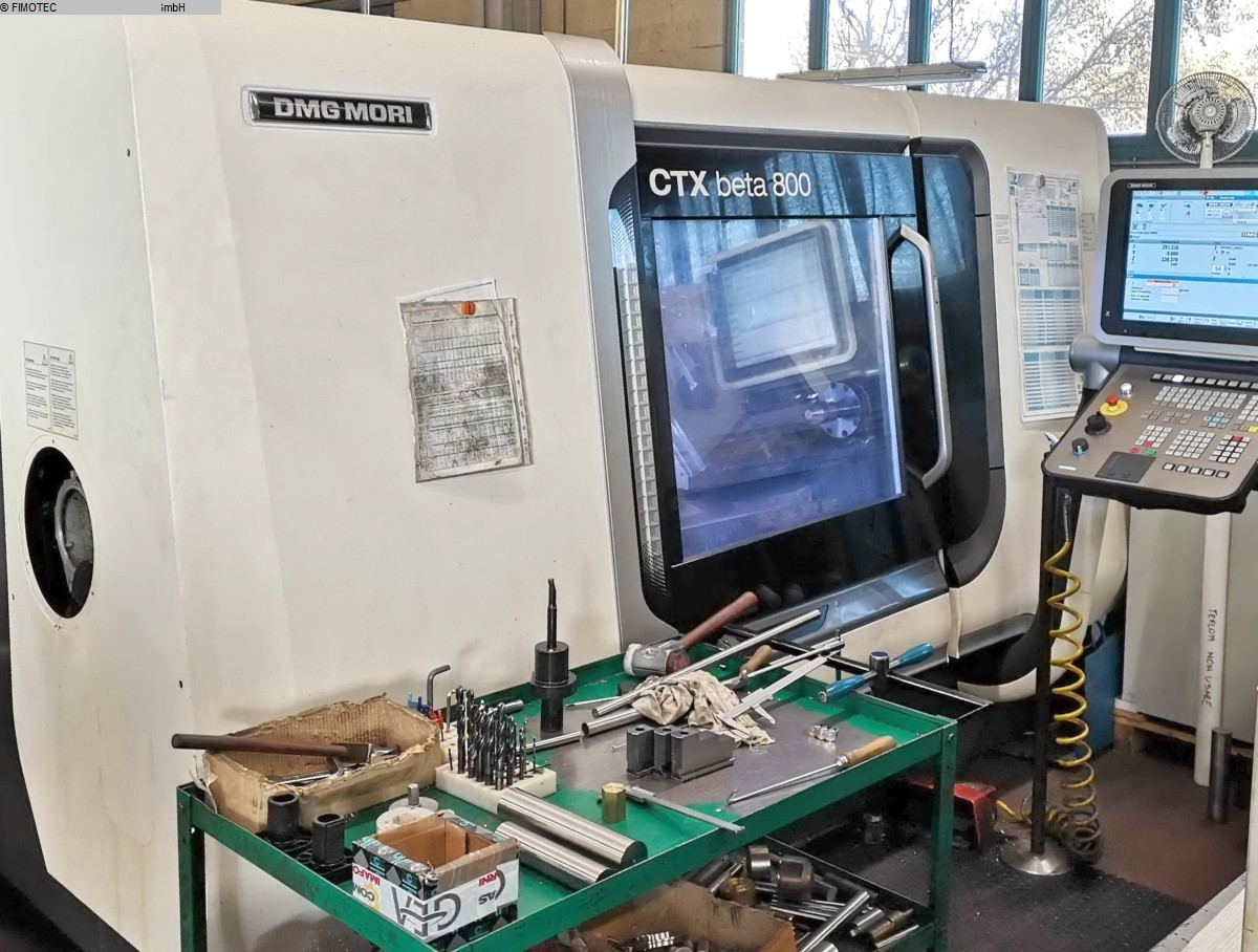 gebrauchte  CNC Dreh- und Fräszentrum DMG MORI CTX beta 800