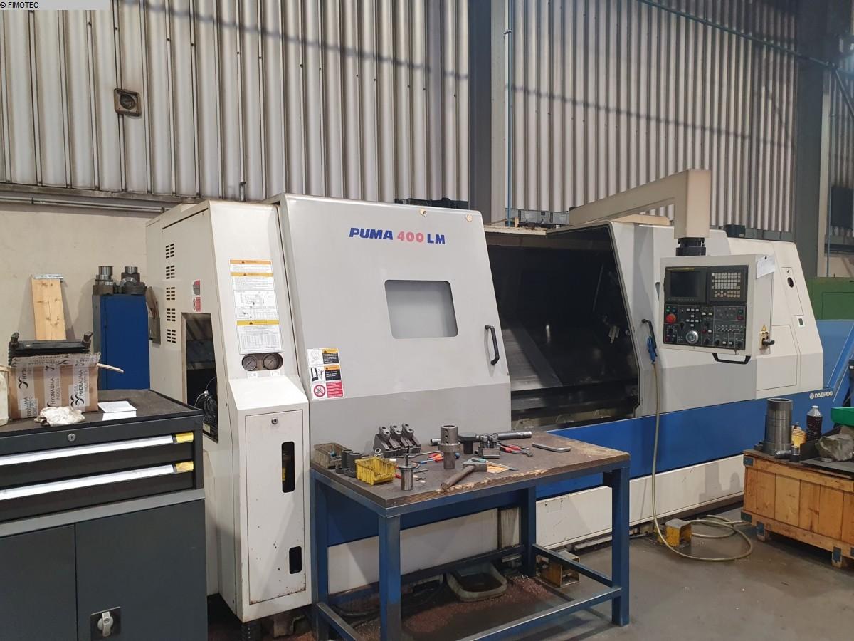 gebrauchte  CNC Drehmaschine DAEWOO DOOSAN PUMA 400 LMB