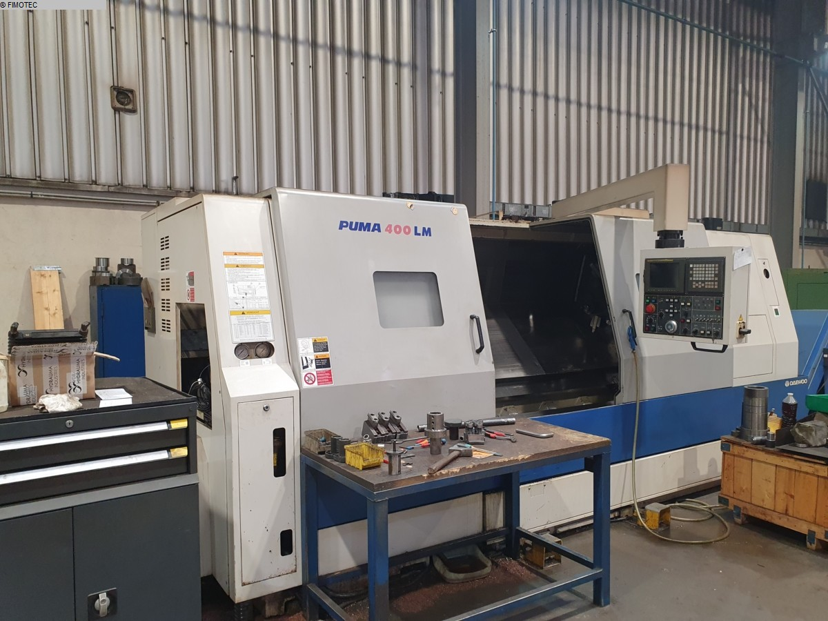 used  CNC Lathe DAEWOO DOOSAN PUMA 400 LMB