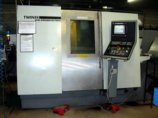 used CNC Lathe GILDEMEISTER  Twin 32