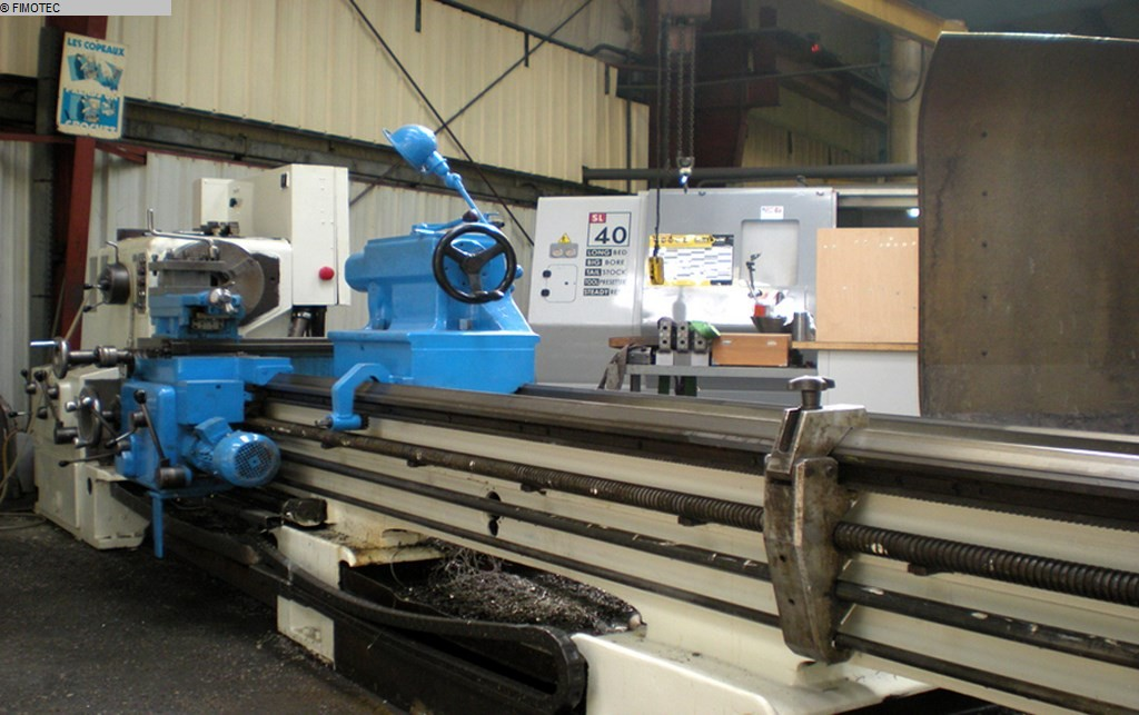 used  Center Lathe WMW-NILES DLZ 800 IV x 4000